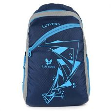 Lutyens Blue Polyester Basic Quality School Bag (21 Litre) (Lutyens_267) for Rs. 379