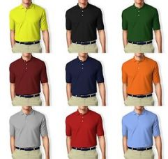 Collar Polo Polyester T-Shirt for Rs. 269