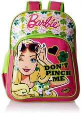 Buy Barbie Pink and Green Children's Backpack (Age group :6-8 yrs) from Amazon