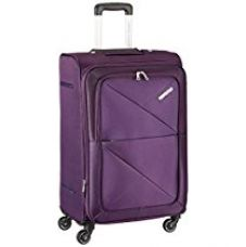 American Tourister Peru Polyester 55 cms Purple Soft Sided Carry-On (AMT PERU SP 55CM EXP - PURPLE) for Rs. 5,894