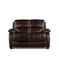 Flat 55% off on William Two Seater Sofa Brown