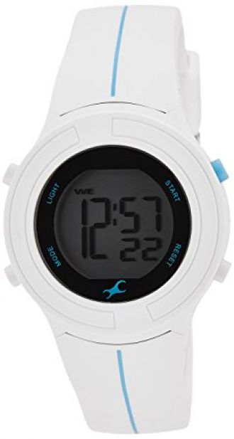 Buy Fastrack Casual Digital Gray Dial Women's Watch - 68002PP02J from Amazon