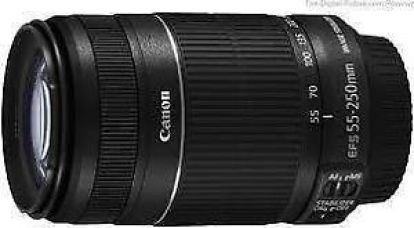CANON EF-S55-250mm f/4-5.6 IS II Lens FOR CANON EOS 550D,600D,700D,750D,70D,760D for Rs. 10,400