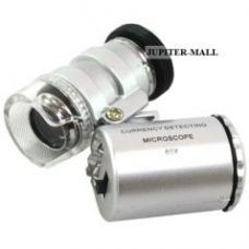 Buy 60x Led Pocket Illuminated Magnifier Magnifying Glass Microscope -31 from Rediff