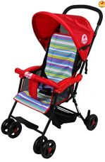 BAYBEE Shade- Baby Buggy Stroller (Red) 1 Pcs for Rs. 2,099