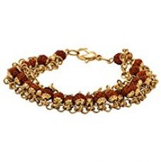Valentine Gifts: Dare By Voylla Alloy With Gold Plated Bracelet For Men, Boyfriend & Husband for Rs. 316