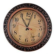 Buy JaipurCrafts Decorative Vintage Designer Wall Clock (Height 46 CM) from Amazon