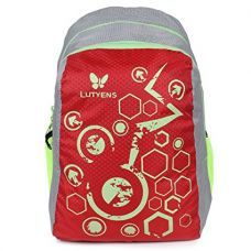 Buy Lutyens Red Polyester School Bag(17 Litre)(Lutyens_268) from Amazon