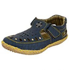 Buy ESSENCE Boys' Blue Outdoor Sandals-3 from Amazon