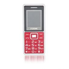 Buy Forme D8+ Camera with Flash | Dual SIM Mobile Mobile Phone (The Big Red) from Amazon