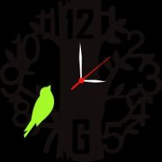 Get 57% off on Black Wall Clock