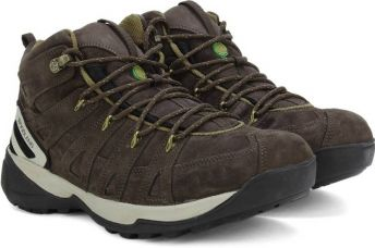 Buy Woodland Leather Boots  (Brown) from Flipkart
