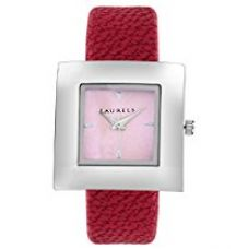Laurels Xeta Analogue Red Dial Women's Watch (Lo-Xt-103) for Rs. 449