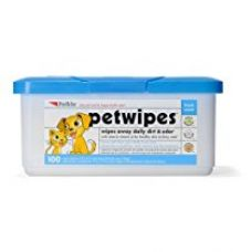 Buy Petkin Petwipes for Cats and Dogs (100 Pieces) from Amazon
