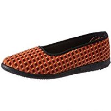Buy Gliders (From Liberty) Women's Splbelly-5 Orange Ballet Flats from Amazon