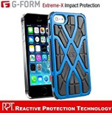 G-Form EXTREME-X Ruggedized Protective Case for Apple iPhone 5 & 5s [Blue-Black] for Rs. 199