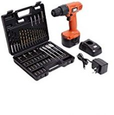 Buy BLACK+DECKER CD961K50 9.6 Volt Cordless Keyless Chuck Drill Driver Kit (Orange, 50 Accessories) from Amazon