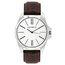 Buy Laurels Analogue Silver Dial Opus Men's Watch (Lo-Om-0109) from Amazon