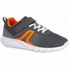 Buy Soft 140 children's fitness walking shoes grey/orange for Rs. 799
