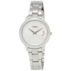 Buy Timex Silver Dial And Silver Strap Analog Watch Fo from Infibeam
