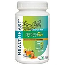 Healthkart Refresh tea with Garcinia, Green tea and Green coffee extracts, Refreshes and Revitalizes, for weight management, 200g , honey lemon flavor for Rs. 349