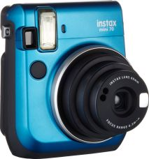Buy Fujifilm Instax Mini 70 Instant Camera (Blue)  (Blue) from Flipkart
