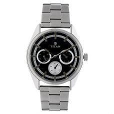 Buy Titan Analog Black Dial Men's Watch-90084SM01J from Amazon