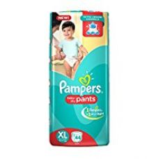 Pampers Extra Large Size Diaper Pants (44 Count) for Rs. 569