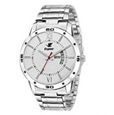 Buy Espoir Exclusive Day & Date Display Analog White Dial Stain for Rs. 389