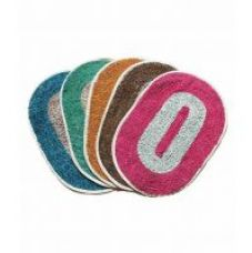 Buy Multicolor Polyster Door Mat Set Of 2 for Rs. 119
