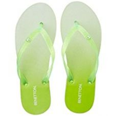 Buy United Colors of Benetton Women's Flip-Flops and House Slippers from Amazon