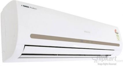 Flat 4% off on Voltas 2 Ton 3 Star Split AC  - White  (243cyi/cye)