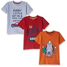 Buy Cherokee Boys' T-Shirt (Pack of 3) from Amazon