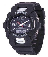 MT-G Analog Digital Wrist Watch For Boys for Rs. 268