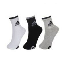 Buy Adidas Ankle Length Socks Pack of 3 for Rs. 240