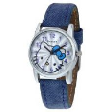 Get 59% off on Danzen Round Dial Blue Leather Analog Watch For Women