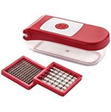 Ganesh Plastic Vegetable and Fruit Chopper, Red for Rs. 369