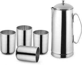 Flat 70% off on Classic Essentials 151845 Jug Glass Set  (steel)