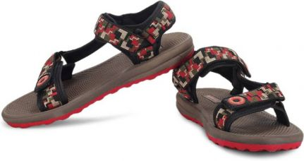 Buy Terravulc Men Red Sports Sandals from Flipkart
