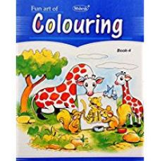Fun Art Series Colouring Books Set of 6 for Rs. 210