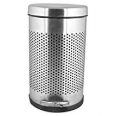 Sapphire stainless steel perforated paddle dustbin (8x12) for Rs. 799