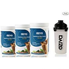 Buy Oziva Nutritional Meal Shake For Men, 3 Month Weight Loss - 3 Jars (1Kg Each), Chocolate + Free Shaker from Amazon