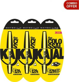 Maybelline The Colossal Kajal  (Set of 3) for Rs. 306