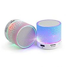 Buy TryKart (Top Selling) Latest Wireless LED Bluetooth Speakers S10 Handfree with FM Radio (Assorted Colour) from Amazon