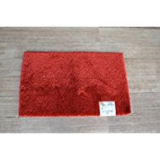 Buy Spaces Luxury Cushion Rug (Size 49cmX80cm) - Red from Amazon