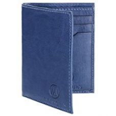 Buy MarkQues Colt Blue Men's Card Holder Wallet (COL-4405) from Amazon