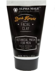Flat 63% off on Alpha Male Grooming Dark Knight- Botanical resurfacing charcoal mask for MEN(102.5 g)