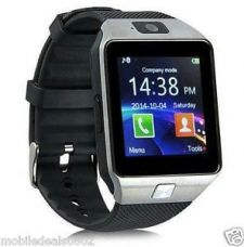 Buy DZ09 Bluetooth Smart Watch Phone With GSM SIM+Card Slot Support Android & IOS from Ebay