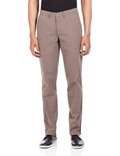 Buy United Colors of Benetton Men's Regular Casual Trousers (8903239827566_Brown_42) from Amazon