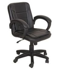 Flat 43% off on Baxton Medium Back Office Chair